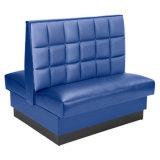 Restaurante personalizado Sofá Conjunto de muebles de comedor de madera asientos de cabina (HD370)