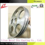 La lega di alluminio calda di vendita la puleggia di cinghia della pressofusione