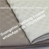 Cuir de PVC de tissu de Tableau de prix usine pour la nappe Ds-A1006