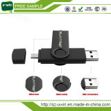 Logotipo livre Twister Unidade Flash USB OTG cartão USB