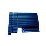 CNC Machinaal bewerkte Uitdrijving Heatsink van het Aluminium van Heatsink van het Koper