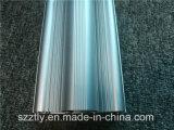 Perfil de aluminio de anodización de la protuberancia de la sección de la naturaleza de la alta calidad