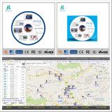 Sistema de GPS Tracker Software de rastreo inalámbrico con aplicaciones&Personalización de la plataforma