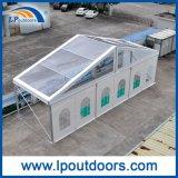 Im Freien transparentes Überspannungs-Festzelt-Zelt des Dach-Deckel-15m freies für die 500 Kapazitäts-Partei