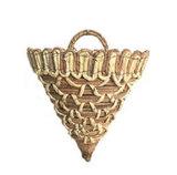Handwoven Mand van de Kabel van het Blad van het Graan & van de Banaan