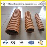 Conduit spiralé de HDPE de Tensioing de poste de 40mm à 135mm