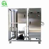 Générateur d'ozone avec réservoir mélangeur et pompe à mélange