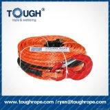 веревочка оплетки 20000lbs 10mm Dyneema UHMWPE синтетическая для электрического ворота 12000lbs