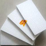 La superficie de tela de fibra mineral acústico baldosas (SGS, resistente al fuego clase B)