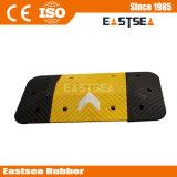 De Caucho negro y amarillo 1metro de ancho flecha badén