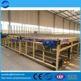 A linha de produção de placas de gesso - Sistema de Serviço Longlife