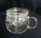OEMの発注は歓迎されたガラスティーカップである