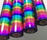 Clinquant d'estampage chaud de qualité colorée pour le plastique/cuir/papier/en bois/tissu