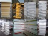Tegometal Supermarkt-Regal mit unterschiedlichem Entwurf