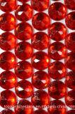 Rhinestone de acrílico del Rhinestone plástico posterior frustrado de 30m m para la decoración (30m m FB-Redondos)
