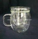 手のBlowwnのよい価格のガラスティーカップ