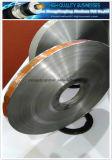 Color impreso y cinta laminada de Mylar del animal doméstico del papel de aluminio de las palabras para el cable