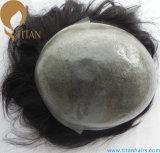 薄い皮を持つ人のための100%年のRemyの人間の毛髪のかつら