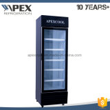 450L Swing Glass Door Upright Beverage Refrigerator
