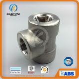 La te de alta presión forjada del igual de la autógena del socket del acero inoxidable de ASME B16.11 forjó las guarniciones (KT0552)