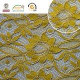 Laço de Polyster do derretimento da fantasia do aparamento do poliéster da tela do laço do bordado da alta qualidade 2017 para os vestuários & as matérias têxteis Home Ln10037