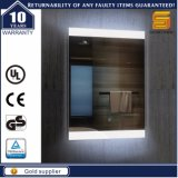 Espejo ligero iluminado LED decorativo montado en la pared del certificado de la UL