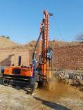 Plate-forme de forage de puits d'eau portable Crawler de 300 mètres