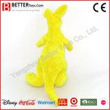 Brinquedo macio super do canguru do luxuoso do animal enchido para crianças