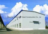 A estrutura de aço do prédio para armazém, oficina, Edifício Industrial, Contentor House e Sunroom