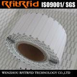 Papier thermosensible remplaçable de fréquence ultra-haute dans le tag RFID de roulis