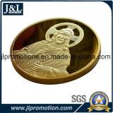 La moneta in lega di zinco del metallo dello specchio della pressofusione