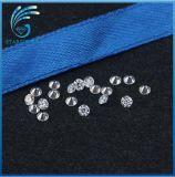 丸型1.0mm永久に宝石類のための切口のMoissaniteの1個の華麗なダイヤモンド