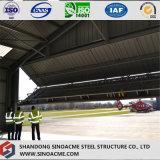 Edifício de frame de aço claro de Prefabaricated para o hangar do avião