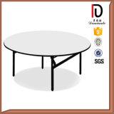 熱い販売の合板の宴会の結婚式のための屋外の折りたたみ式テーブル(明るい)