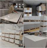 Feuille extérieure solide acrylique en pierre artificielle matérielle de dépliement (KKR-M171106)