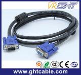 Mannelijke/Mannelijke VGA van de hoge snelheid Kabel 3+9 voor Monitor/Projetor