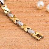 Neue Form-Dame Bracelet mit Gold überzogenen Gesundheits-Energie-Elementen