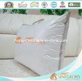 Стандартная гусына роскошной гостиницы вниз Pillow с чисто кожухом хлопка
