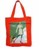 لوّنت يشبع طباعة حمل حقيبة ترويجيّ مع مقبض
