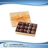 リボン(XC-fbc-030A)が付いているバレンタインのギフトの宝石類キャンデーチョコレート包装ボックス