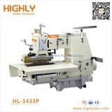 Hl-1433p 33 aiguille double lit plat Chainstitch Machine à coudre