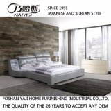 韓国様式の居間の家具- Fb8128のための現代本革のソファーベッド