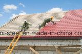 Glasig-glänzende Dach-Fliese/Farben-Dach/Wand-Blatt/vorgestrichenes gewölbte Farben-Stahlblech