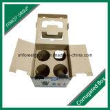 Design de mode Carton ondulé Boîte en papier d'emballage avec inserts