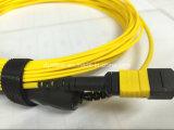 1 미터 MTP-LC 시험 접속 코드, 24core MTP 엘리트 연결관, G657A 섬유