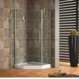 recinto de la ducha de Frameless del vidrio Tempered de 8mm/10m m