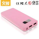 Caricatore portatile 10000mAh di colore della Banca personalizzata D16 di potere e del telefono mobile di capacità elevata