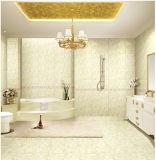 azulejo de cerámica esmaltado interior impermeable de la pared del cuarto de baño 6D-Inkjet de 300X600m m