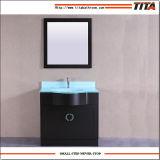 Haut Salle de bains en verre trempé de la vanité t9229-36e