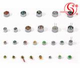 Pin Dgo6027dd-P2cの6.0*2.7mm Electretのヘッドホーンのコンデンサマイクロホン